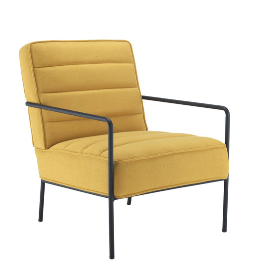 Jade Reception Chair - Mustard/Blue/Grey