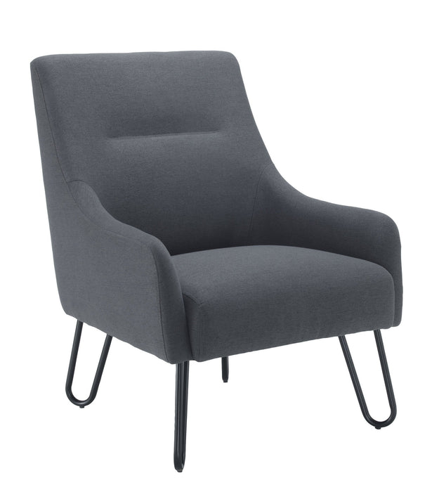 Pearl Reception Chair - Grey