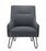 Pearl Reception Chair - Grey Front