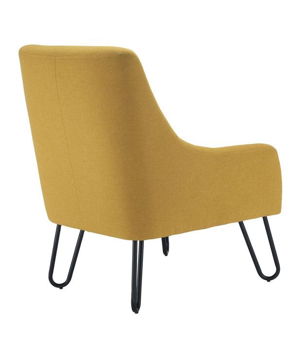 Pearl Reception Chair - Mustard Back