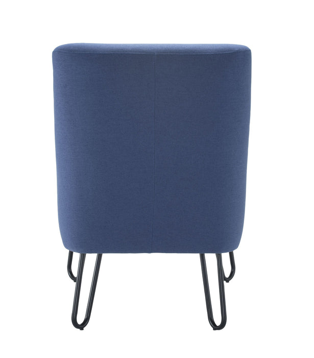 Pearl Reception Chair - Blue Back