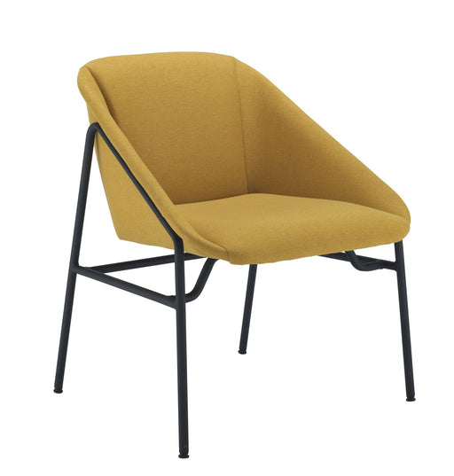 Ruby Reception Chair -Mustard