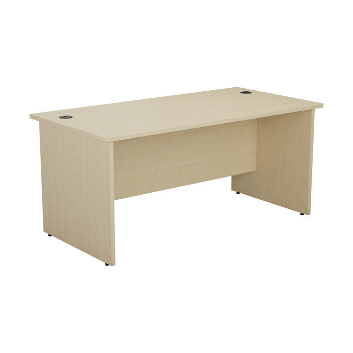 One Panel Next Day Delivery Rectangular Office Desks - 800mm Deep