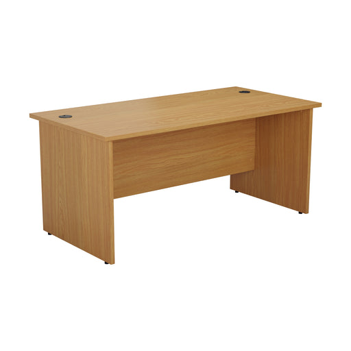 One Panel Next Day Delivery Rectangular Office Desk - 600mm Deep