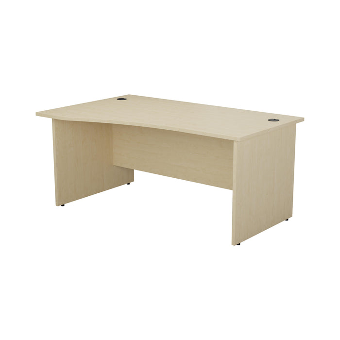 One Panel Next Day Delivery Wave Office Desk - 1600mm