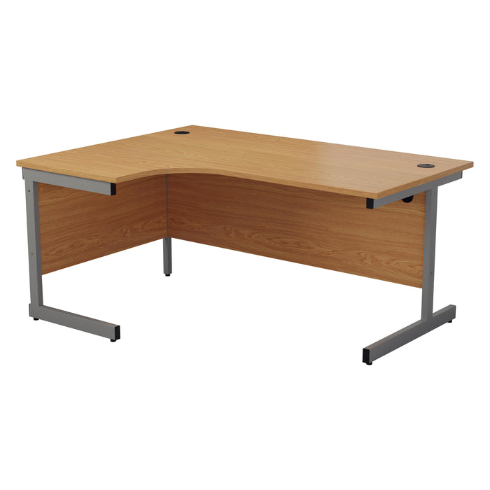 One Cantilever Crescent Office Desk - 1600mm x 1200mm