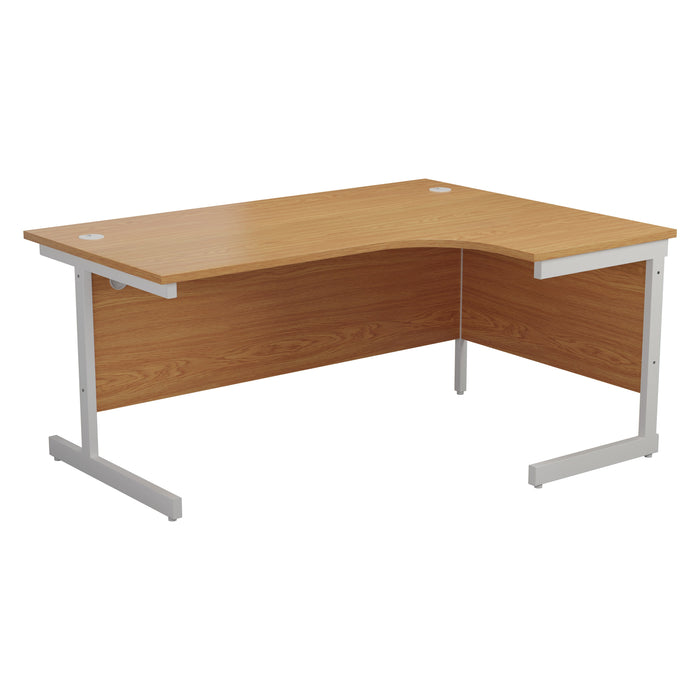 One Cantilever Crescent Office Desk - 1800mm x 1200mm