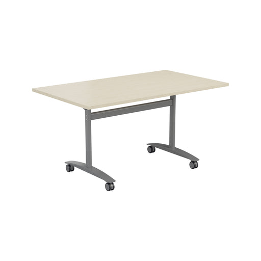 One Tilting Meeting Table 700mm Deep