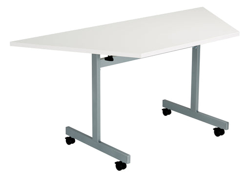 One Tilting Meeting Table 1400mm Trapezoidal