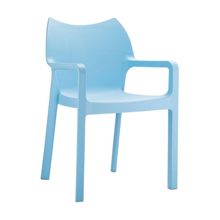 Peak Arm Chair - Light Blue