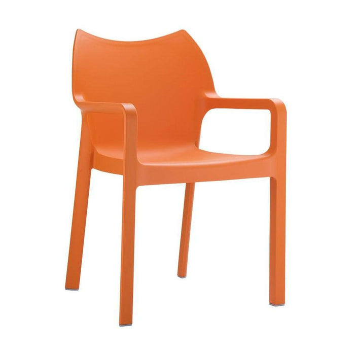 Peak Arm Chair - Orange