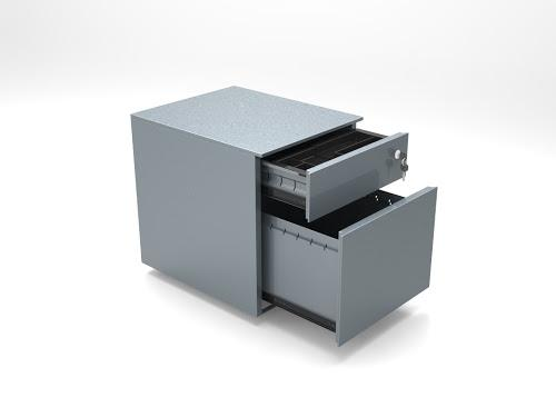 CUBE Steel Low Pedestal File Drawer