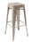 Paris Metal High Stool