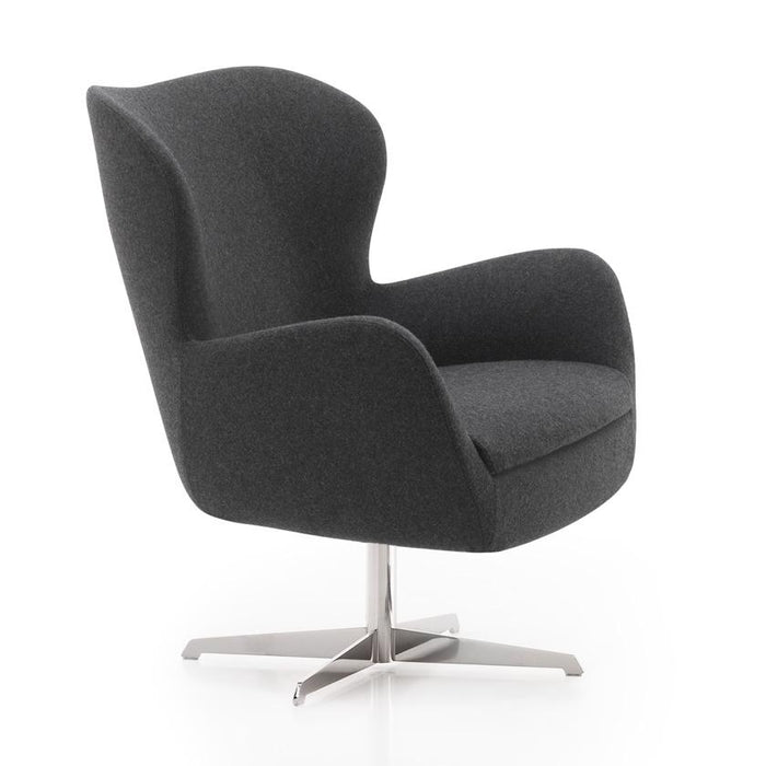 Pause Swivel Base Designer Armchair