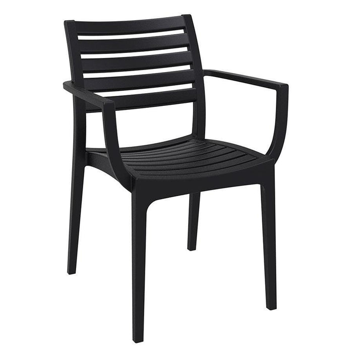 Real Arm Chair - Black