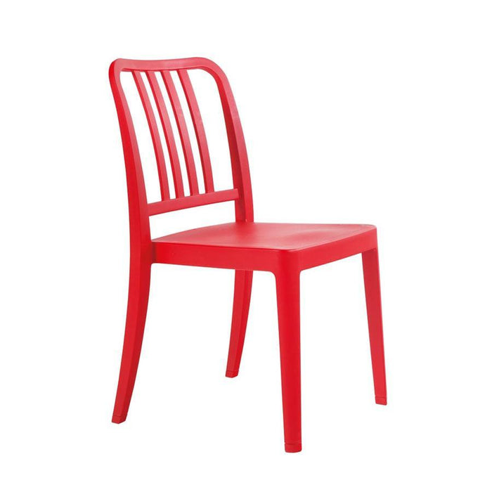 Rock Side Chair - Red