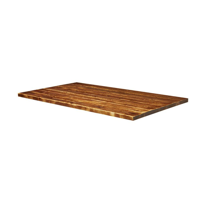 Rustic Aged Solid Wood Table Top - 1800x700x32mm