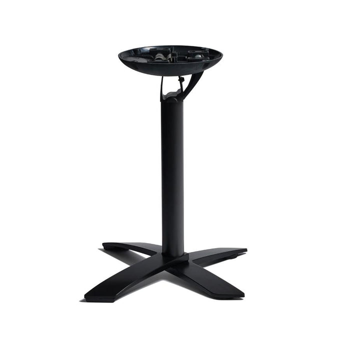 Spaceguard Aluminium Flip Top Deluxe Base - Black