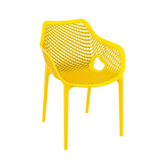 Spring Arm Chair - Yellow