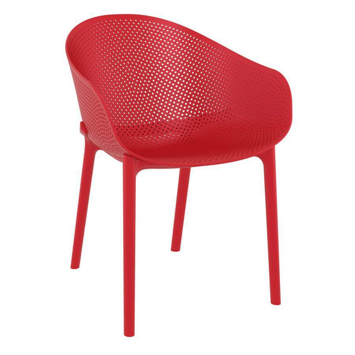 Sky Arm Chair - Red