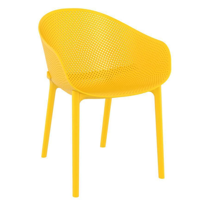 Sky Arm Chair - Yellow