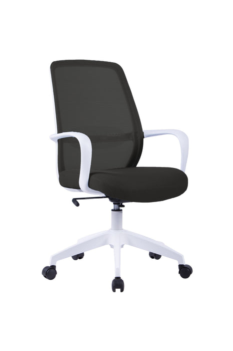 SOHO Mesh Back Office Chair - White Frame