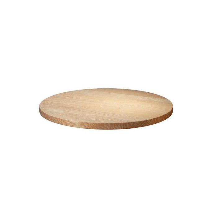 Solid Ash Table Top - Unfinished -  60cm dia (Round)