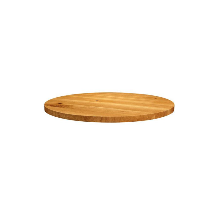 Natural Lacquered Character Oak - 75cm dia (Round)