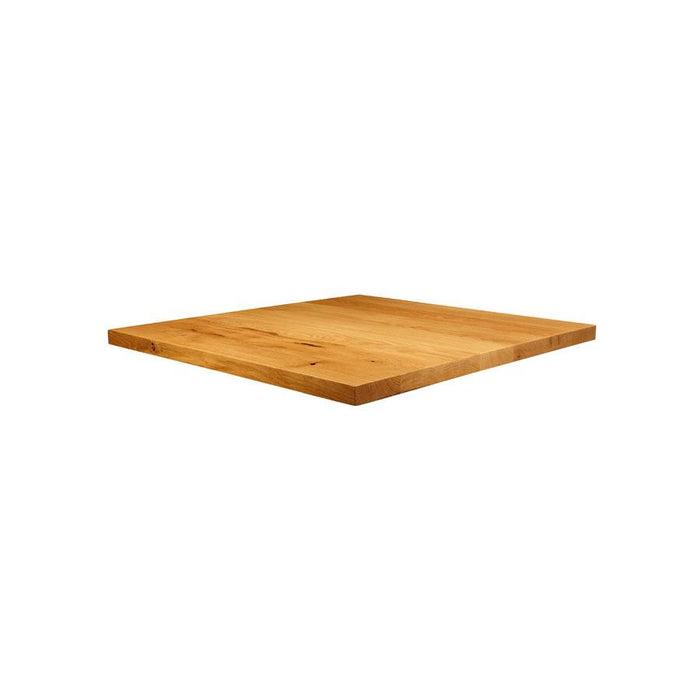 Natural Lacquered Character Oak - 70cm x 70cm (Square)