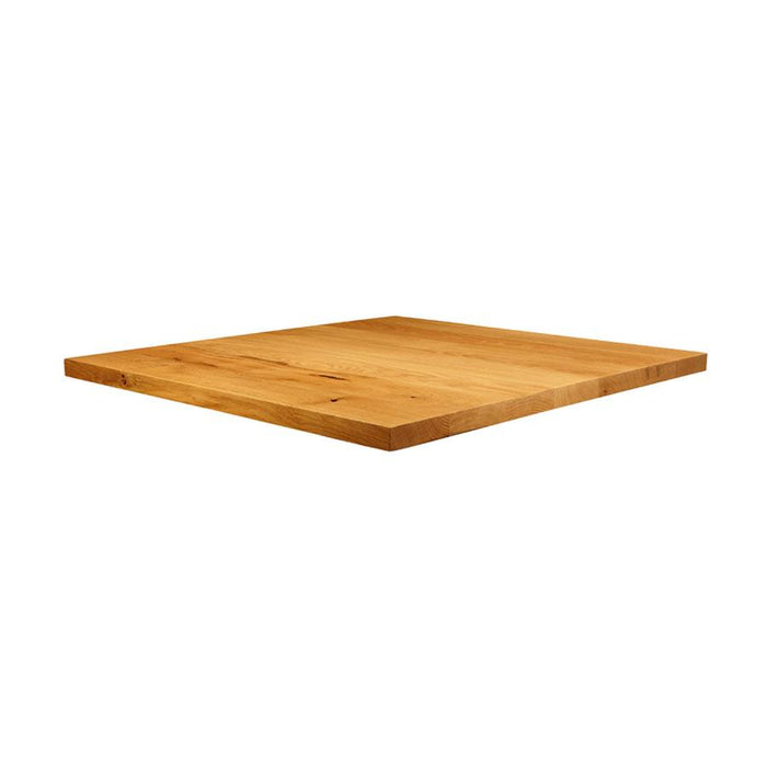 Natural Lacquered Character Oak - 90cm x 90cm (Square)