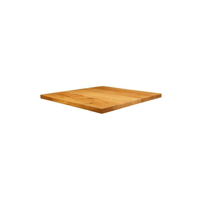 Natural Lacquered Character Oak - 60cm x 60cm (Square)