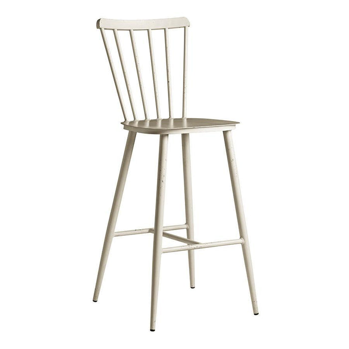 Spin Bar Stool - Retro White
