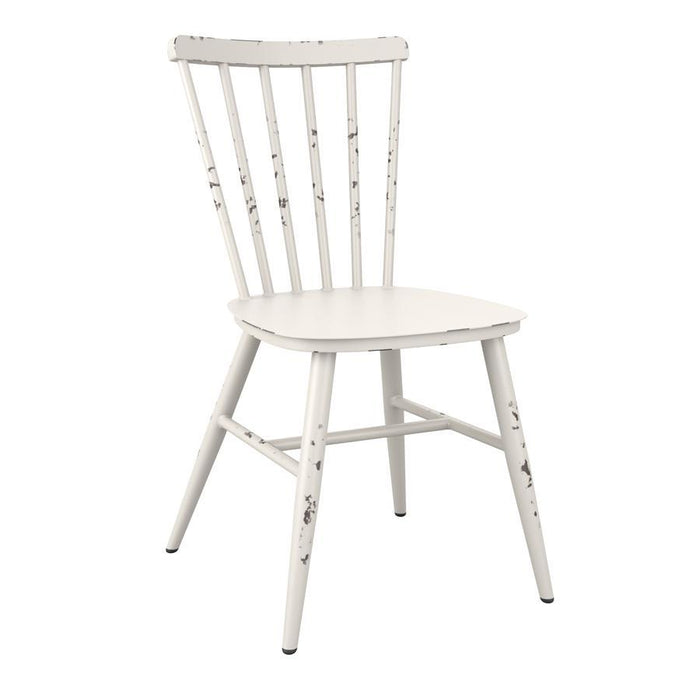 Spin Side Chair - Retro White