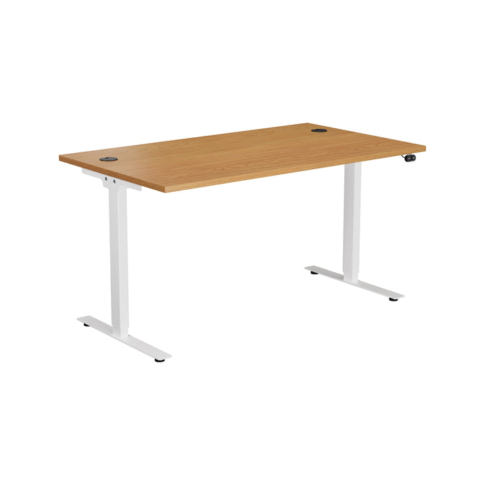 E Bench Height Adjustable Office Desks