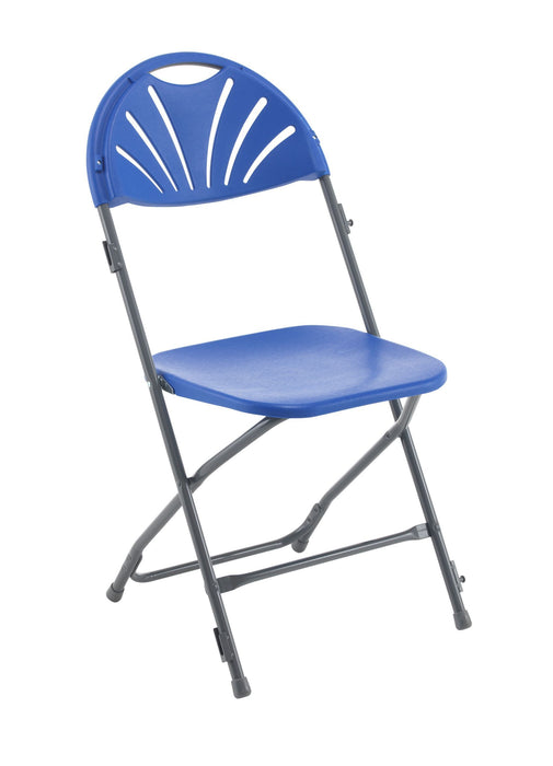 Enable Fan Back Folding Chair with Linking Unit - Seat Height 440mm