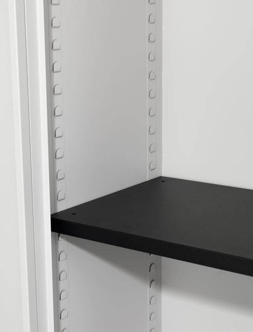Steel Tambour Shelf