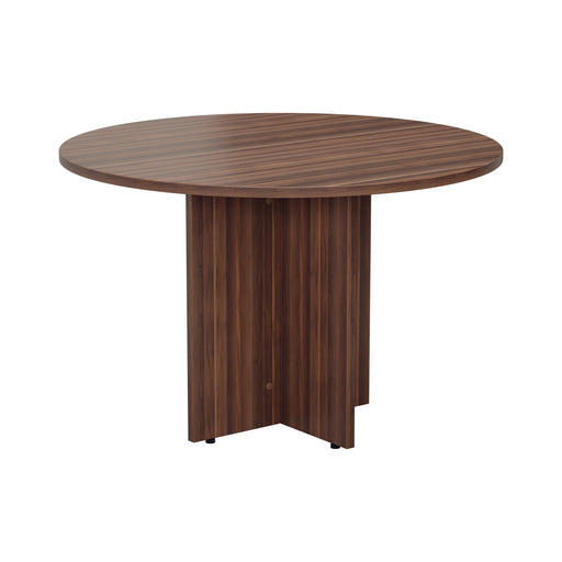 Simple Round Meeting Table 1100mm diameter