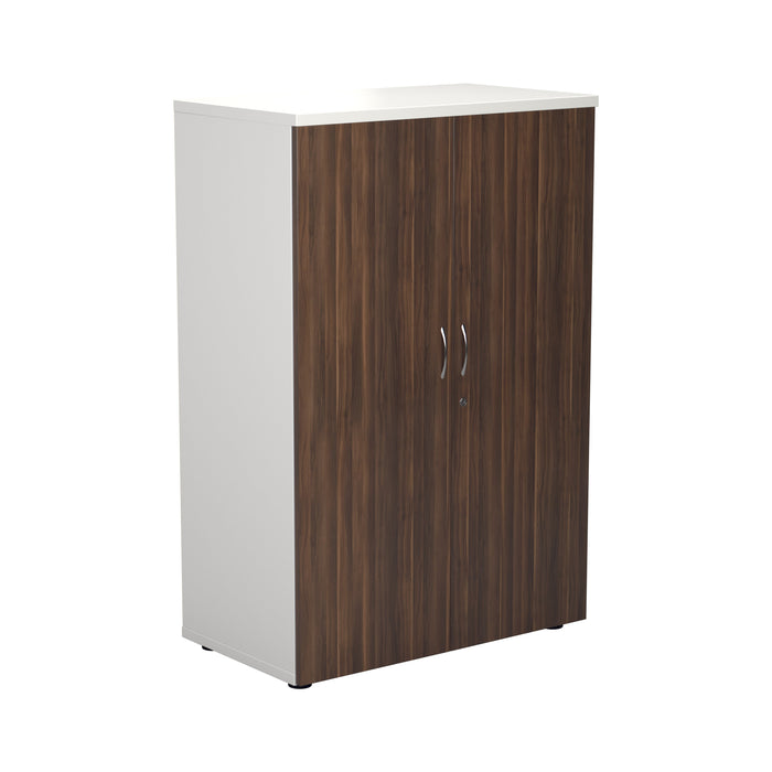 Two Tone 1200mm High Wooden Cupboard