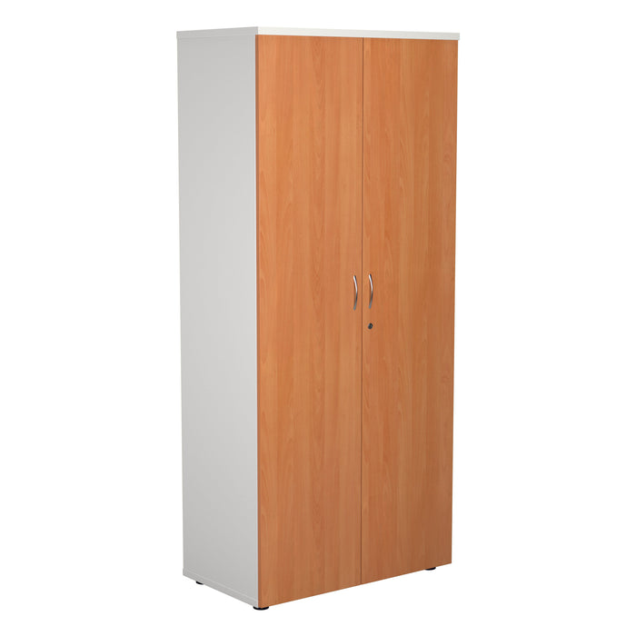 Two Tone 1800mm High Wooden Cupboard