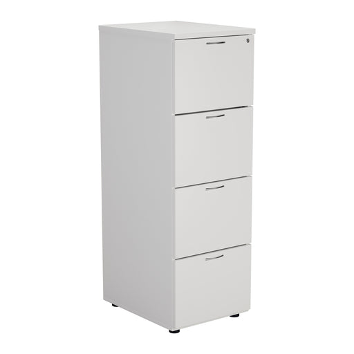 Wooden 4 Drawer Filing Cabinet