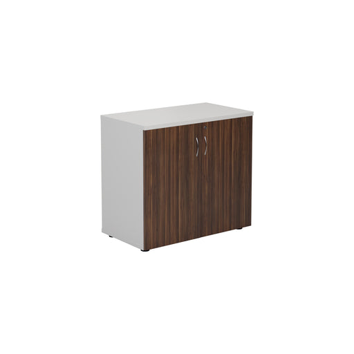 Two Tone 730mm High Wooden Cupboard