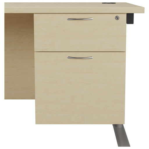 Fixed Underdesk Pedestal