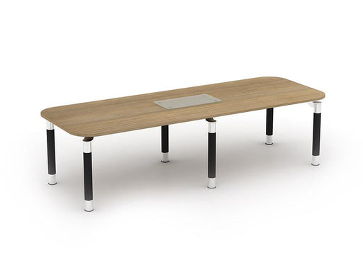 Kingston Metal Leg Rectangular Boardroom Table