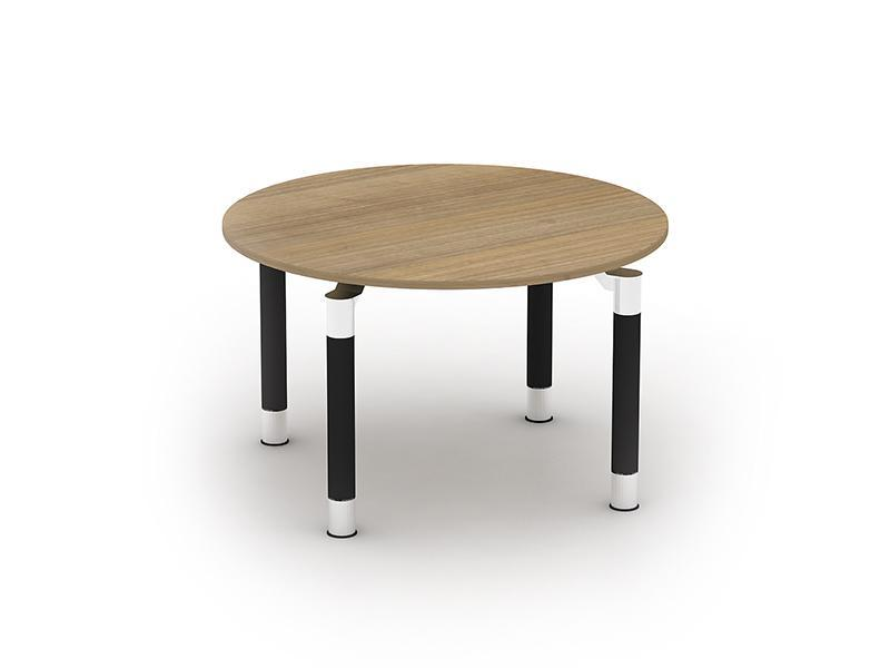Kingston Circular Meeting Tables With Metal Legs