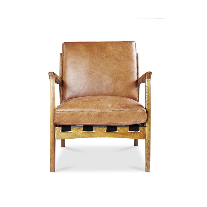 AT EASE Leather Reception Chair