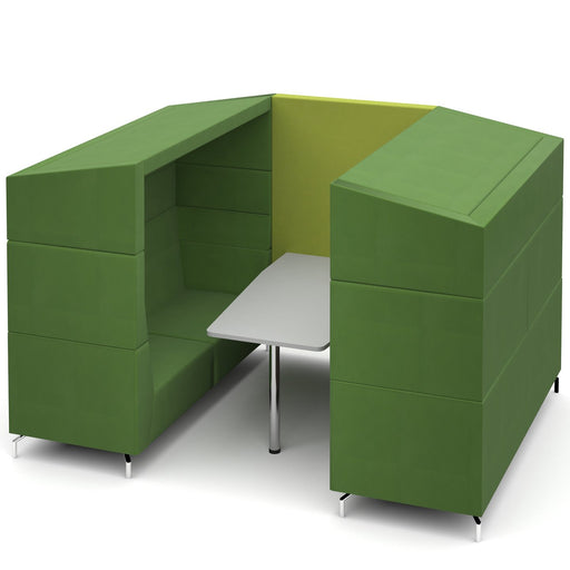 Alban Six Person Covered Meeting Booth