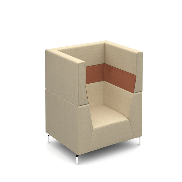 Alban High Back Armchair