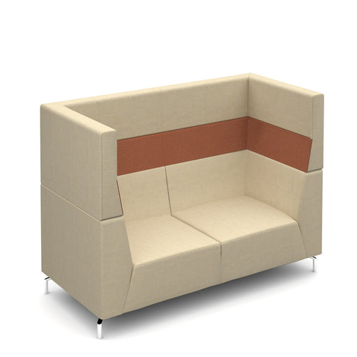 Alban High Back Two Person Sofa