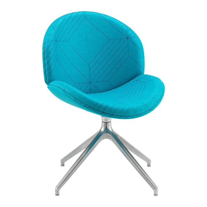 Shout Fully Upholstered Lounge Chair - Pyramid base