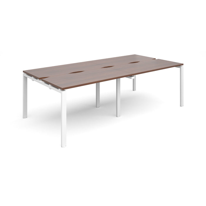 Adapt II 4 Person Bench Desk 2400mm x 1200mm